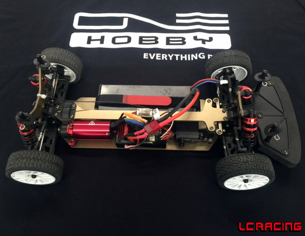 EMB-TCH 1:10 Brushless Touring Car